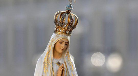 La Madonna di Fatima Pellegrina nella nostra Cappella