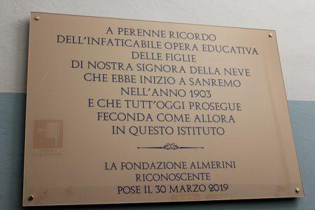 115° Anniversario di fondazione Ist. Almerini di Sanremo